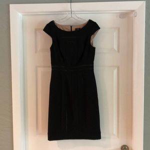 Adrianna Papell black dress. Size 4